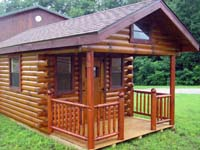 The Mini Series Log Cabins, small, roomy, portable